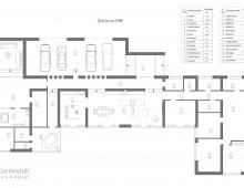 Тщательным образом в творческом тандеме с заказчиками была проведена работа над планировкой дома
