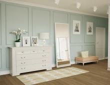 Дизайн интерьера квартиры выполнен в средиземноморском стиле