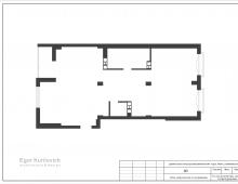 Планировка квартиры от застройщика, ЖК Vogue Минск