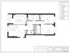 План квартиры после перепланировки от Дизайн-студии Егора Куриловича