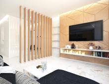 Дизайн интерьера квартиры в ЖК VOGUE Минск