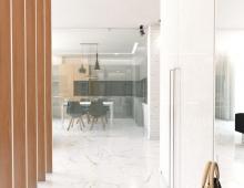 Современный дизайн квартиры в Минске
