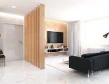 Авторский дизайн квартиры в Минске, ЖК VOGUE