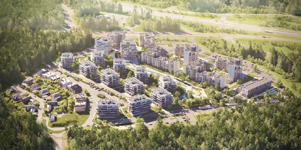 дизайн проект квартиры в жк пирс минск