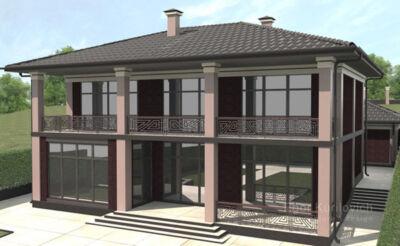 проект дома москва, проектирование дома в москве