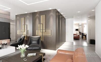 дизайн интерьера квартиры VIP